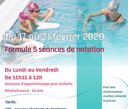 STAGE NATATION 6-10 ANS